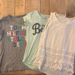 Other - #25 3 pack girls shirts